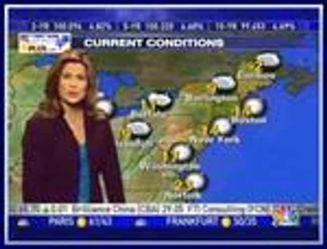 Kristen Cornett is listed (or ranked) 1 on the list Famous Female TV Meteorologists