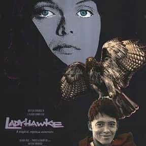 Ladyhawke is listed (or ranked) 13 on the list The Best Matthew Broderick Movies