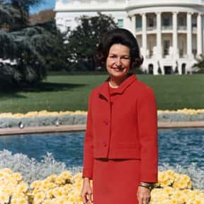 Lady Bird Johnson is listed (or ranked) 12 on the list The Most Loved American First Ladies