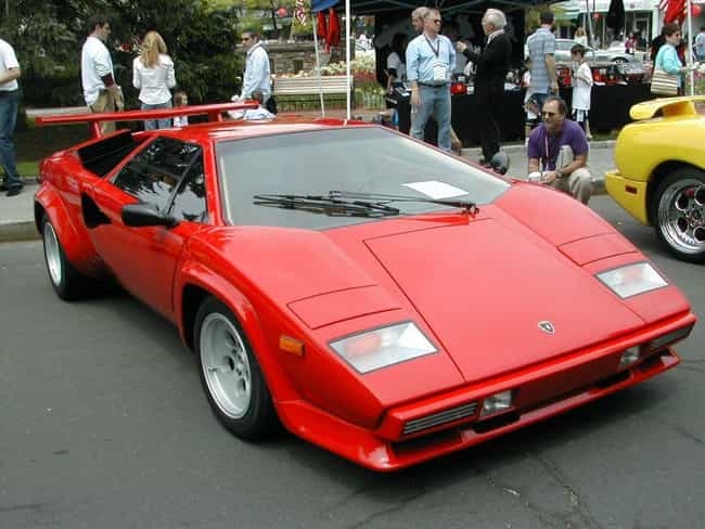 Lamborghini Countach is listed (or ranked) 4 on the list Full List of Lamborghini Models