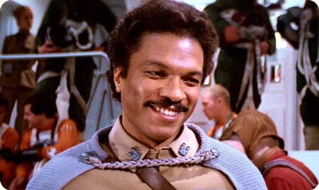 Lando Calrissian is listed (or ranked) 4 on the list What Your Favorite Fictional Characters Say About You, According To Science