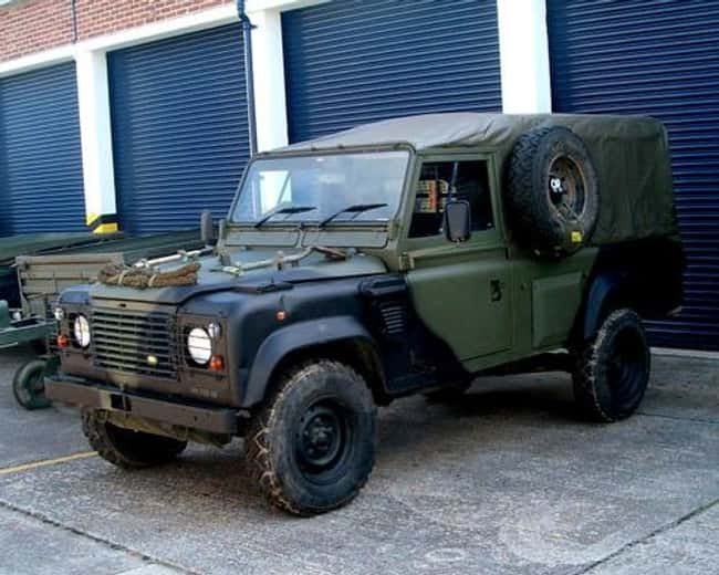 Land Rover Wolf is listed (or ranked) 11 on the list Full List of Land Rover Models