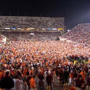Lane Stadium is listed (or ranked) 22 on the list The Best College Football Stadiums
