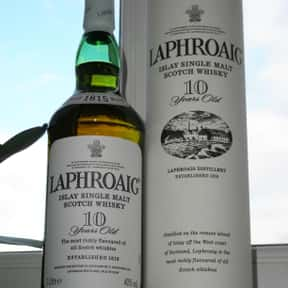 Laphroig is listed (or ranked) 10 on the list The Best Scotch Brands