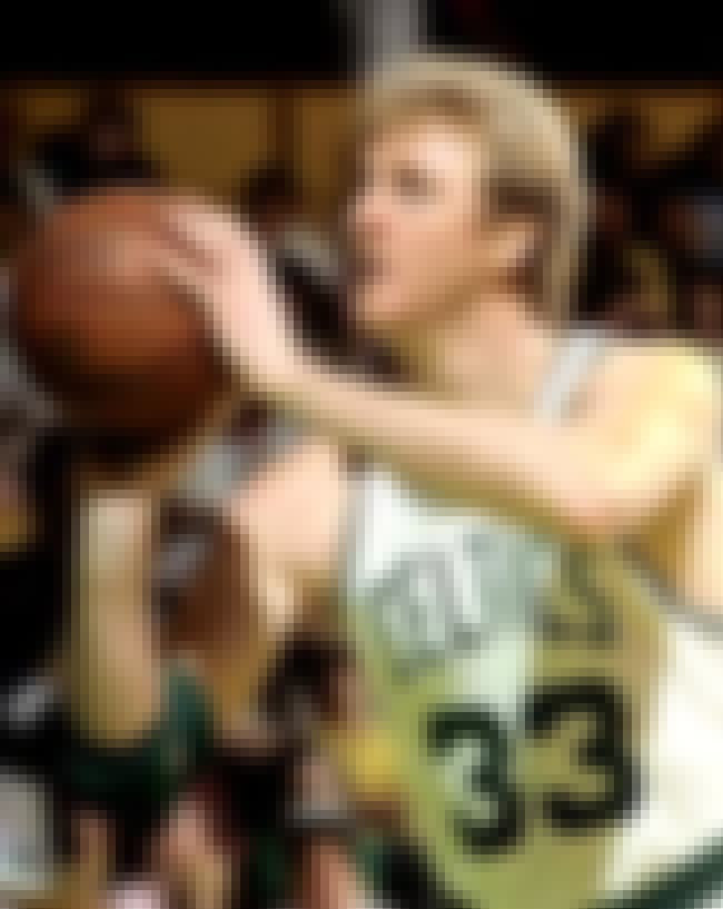 Larry Bird is listed (or ranked) 6 on the list 50 Greatest Basketball Players