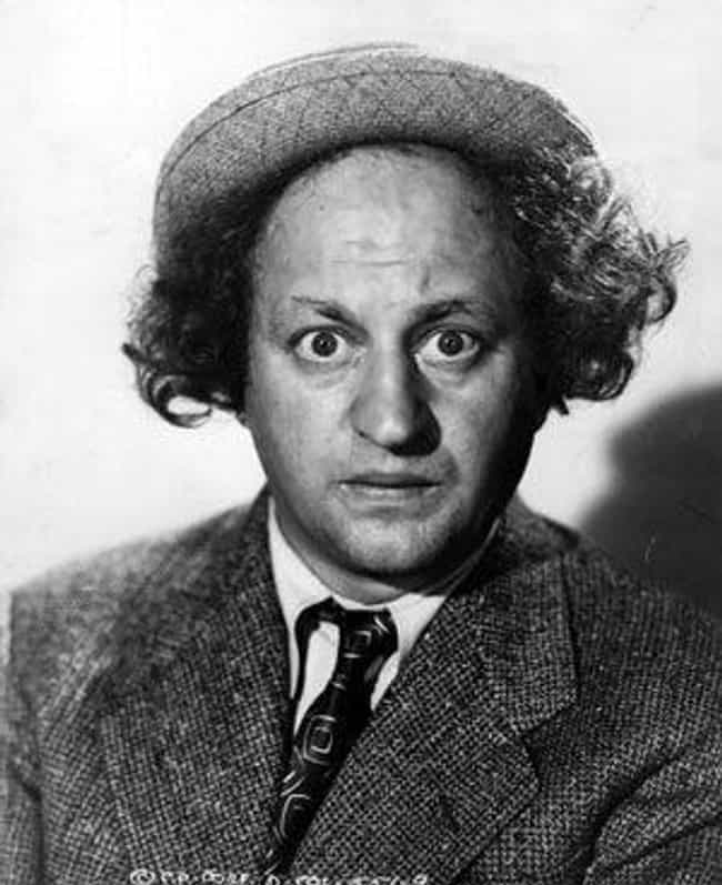 Larry Fine is listed (or ranked) 4 on the list The Three Stooges Cast List