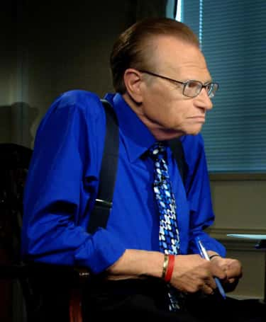 Larry King is listed (or ranked) 1 on the list Famous Survivors of Lung Cancer