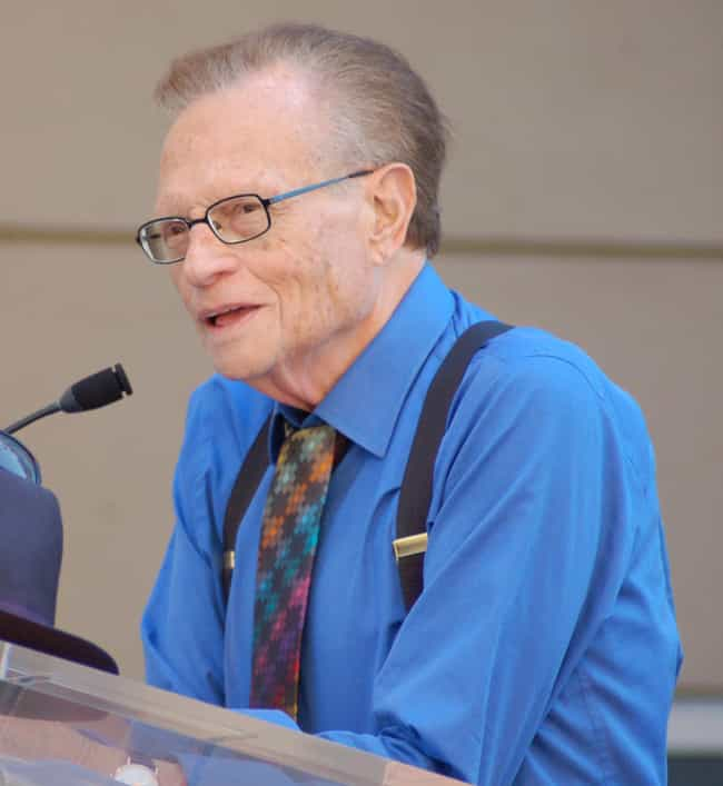 Larry King is listed (or ranked) 2 on the list Famous People Who Got Swindled