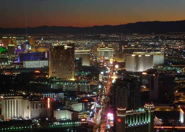 Las Vegas is listed (or ranked) 2 on the list The Trashiest Spring Break Destinations