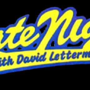 Late Night with David Letterma is listed (or ranked) 2 on the list The Best Talk Shows of the '80s