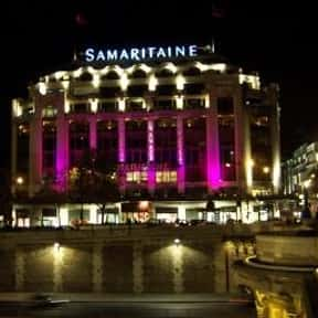 La Samaritaine is listed (or ranked) 9 on the list The Best French Department Stores