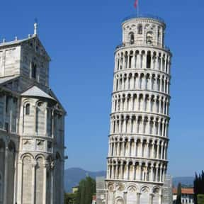 Leaning Tower of Pisa is listed (or ranked) 13 on the list Historical Landmarks to See Before You Die