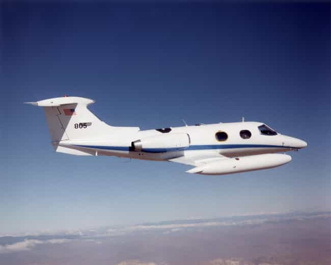 Learjet 24 is listed (or ranked) 4 on the list Lear Jet Airplanes and Aircrafts