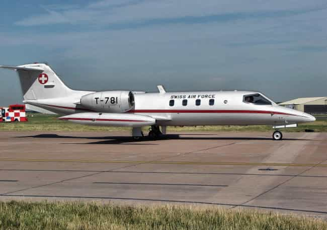 Learjet 35 is listed (or ranked) 2 on the list Lear Jet Airplanes and Aircrafts