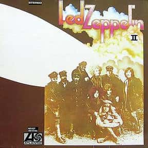 Led Zeppelin II is listed (or ranked) 4 on the list The Greatest Guitar Rock Albums of All Time