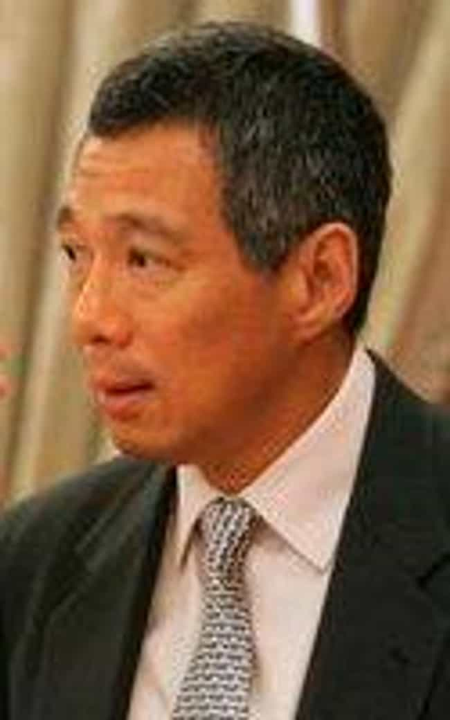 Lee Hsien Loong is listed (or ranked) 1 on the list Famous Catholic High School Alumni