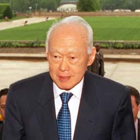 Lee Kuan Yew is listed (or ranked) 23 on the list Famous Lawyers from Singapore