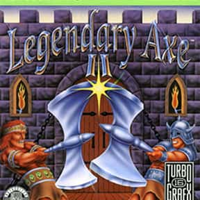 The Legendary Axe II is listed (or ranked) 10 on the list The Best TurboGrafx-16 Games