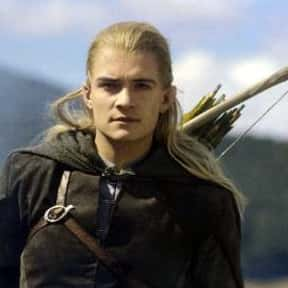 Legolas is listed (or ranked) 4 on the list List of The Lord Of The Rings Characters