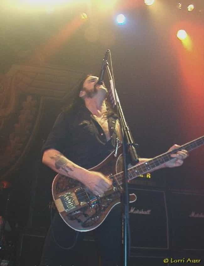 Lemmy Kilmister is listed (or ranked) 8 on the list People Who Got Fired From Huge Rock Bands