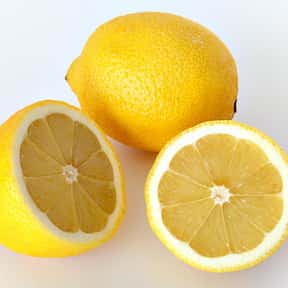 Lemon is listed (or ranked) 9 on the list Low Fat foods