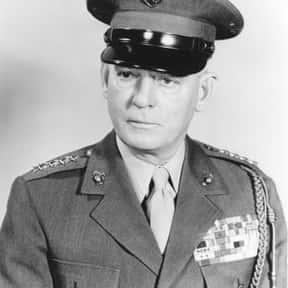Lemuel C. Shepherd, Jr. is listed (or ranked) 18 on the list Famous Virginia Military Institute Alumni