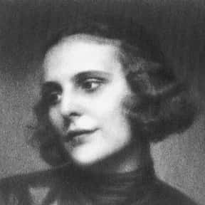 Leni Riefenstahl is listed (or ranked) 17 on the list The Greatest Female Film Directors