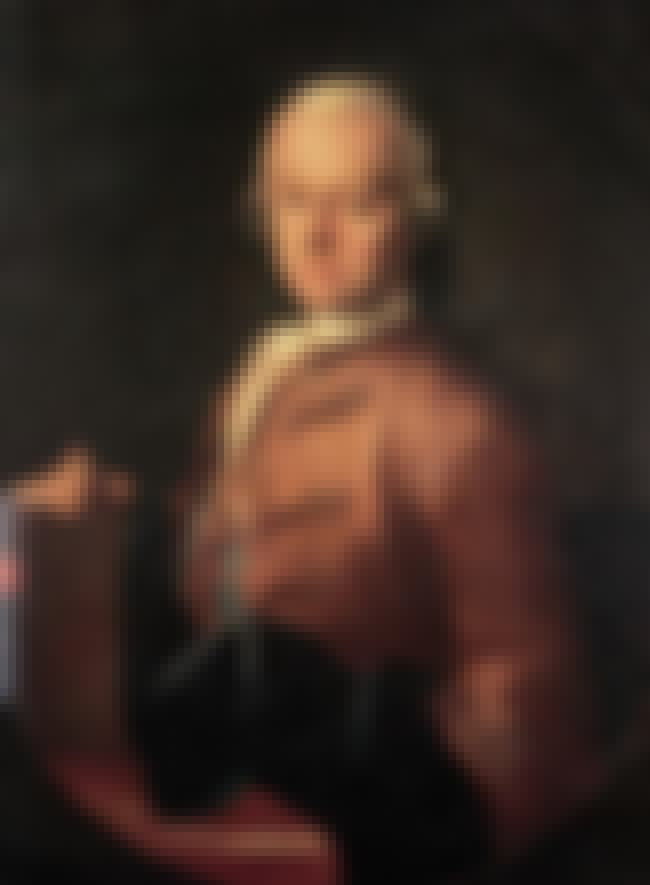 Leopold Mozart is listed (or ranked) 2 on the list Members of the Mozart Family