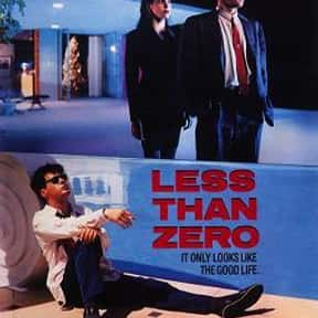 Less Than Zero is listed (or ranked) 11 on the list The Best Drama Movies Set in Los Angeles