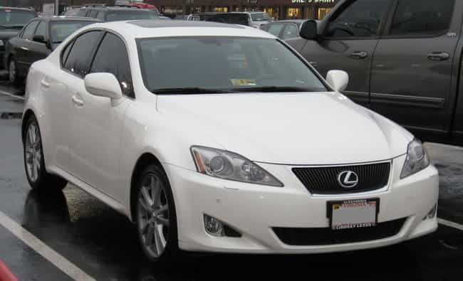 Lexus Is Listed Or Ranked 2 On The List Full Of