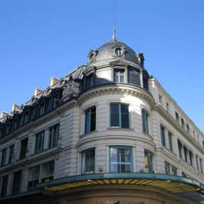 Le Bon Marché is listed (or ranked) 3 on the list The Best French Department Stores