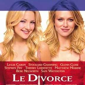 Le Divorce is listed (or ranked) 25 on the list The Very Best Movies About Life After Divorce