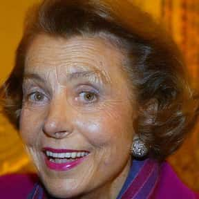 Liliane Bettencourt is listed (or ranked) 3 on the list World's Richest Women