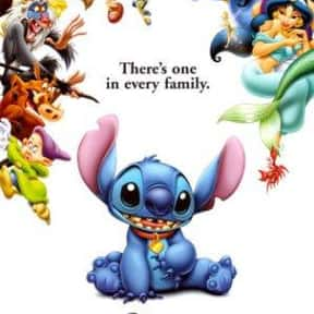 Lilo & Stitch is listed (or ranked) 9 on the list The Best Disney Movies About Family