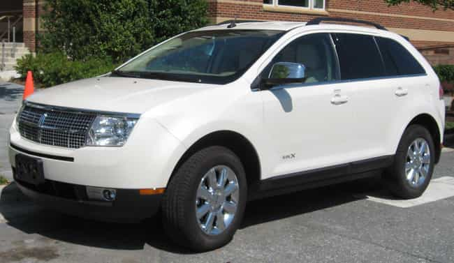 Lincoln MKX is listed (or ranked) 3 on the list Full List of Lincoln Models