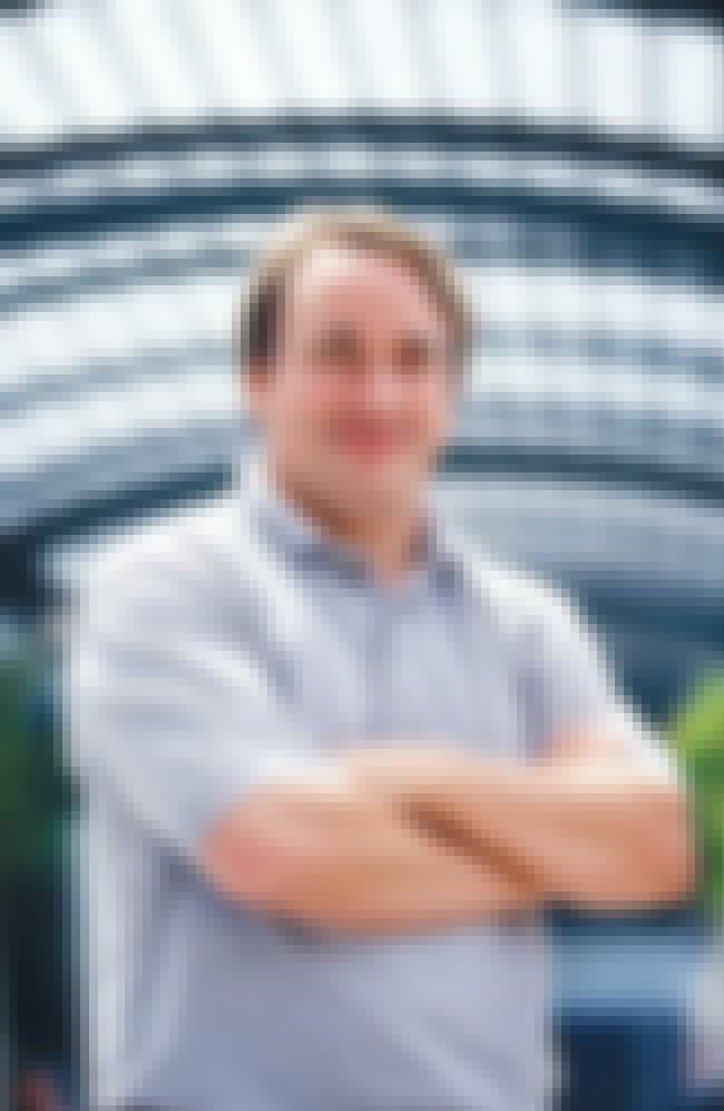 Linus Torvalds is listed (or ranked) 4 on the list List of Famous Software Engineers