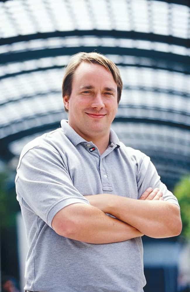 Linus Torvalds is listed (or ranked) 3 on the list Famous Male Software Engineers