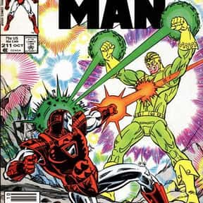Living Laser is listed (or ranked) 17 on the list The Best Iron Man Villains Ever