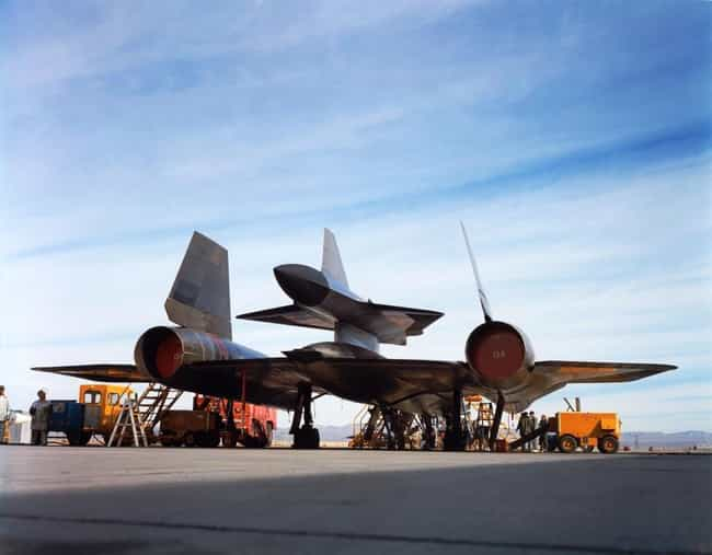 Lockheed D-21 is listed (or ranked) 4 on the list Planes Used By Central Intelligence Agency (CIA)