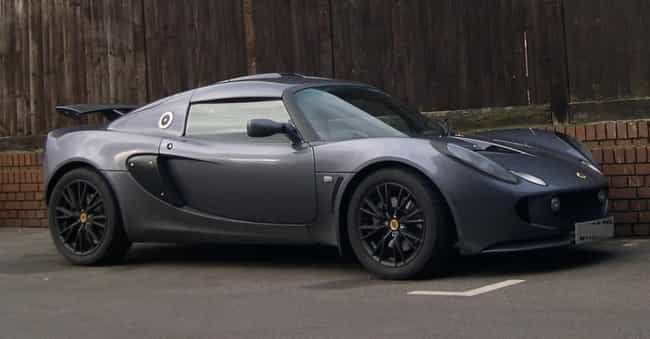 lotus exige is listed or ranked 4 on the list full list of lotus