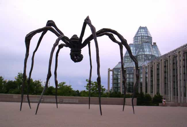 Louise Bourgeois is listed (or ranked) 2 on the list Famous Female Sculptors