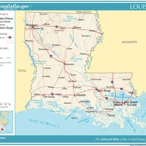 Louisiana is listed (or ranked) 17 on the list The Worst Places to Live in The U.S.