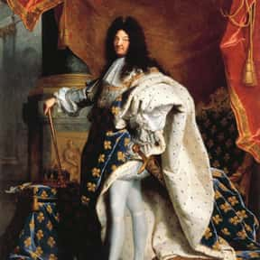 Louis XIV of France is listed (or ranked) 7 on the list List of Famous Monarchs