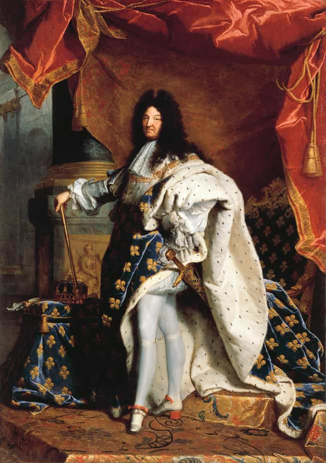 Louis XIV of France is listed (or ranked) 4 on the list Who Was The Most Self-Indulgent Royal In History?