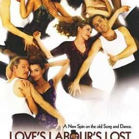 Love's Labour's Lost is listed (or ranked) 14 on the list The Best Shakespeare Film Adaptations