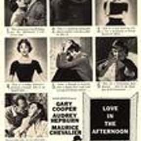Love in the Afternoon is listed (or ranked) 17 on the list The Best Romance Movies of the '50s