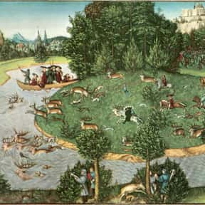 Lucas Cranach the Elder is listed (or ranked) 14 on the list Famous Artists from Germany