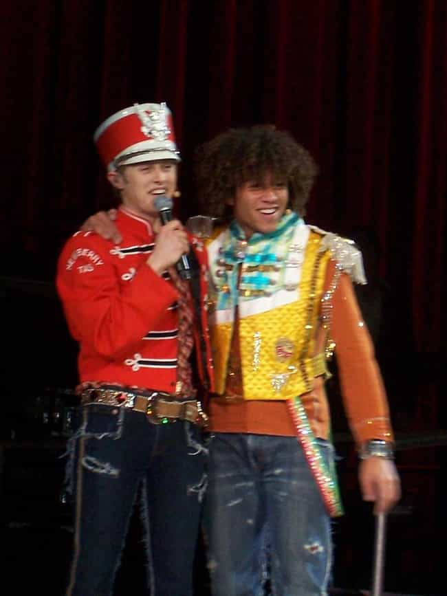 Lucas Grabeel is listed (or ranked) 4 on the list Famous Friends of Corbin Bleu