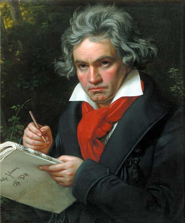 Ludwig van Beethoven is listed (or ranked) 3 on the list 17 Famous Deaf People