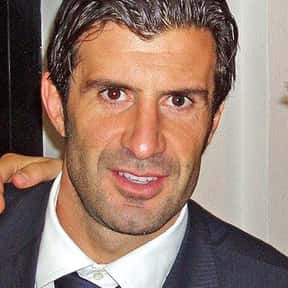 Luís Figo is listed (or ranked) 10 on the list The Best Soccer Players of the '90s